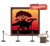 Prehistoric design — Stock Vector