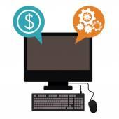 Risk free design — Stock Vector