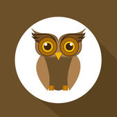Owl design  — Stock Vector