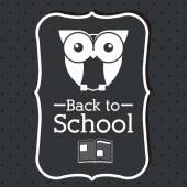Back to school design — Stock Vector