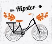 自行车的生活方式设计 — 图库矢量图片