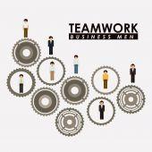 Conception de l'esprit d'équipe — Vecteur