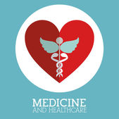 Medicine design — Stock Vector