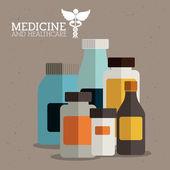 医学のデザイン — ストックベクタ