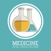 Projekt medycyny — Wektor stockowy