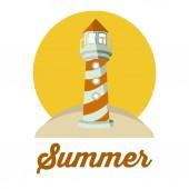 Projekt lato — Wektor stockowy