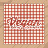 Vegan design — Stockvektor
