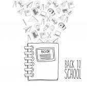 Retour à la conception de l'école — Vecteur
