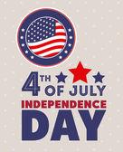 Dzień niepodległości — Wektor stockowy