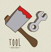 Tools design — Stock vektor
