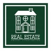 Projeto imobiliário — Vetor de Stock