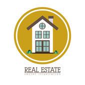 Immobilien-design — Stockvektor
