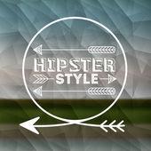 Hippi tarzı tasarım — Stok Vektör