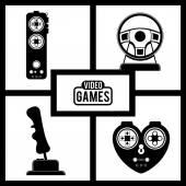 Video games design — 图库矢量图片