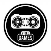 Video games design — Vetor de Stock