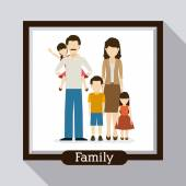 Family  design — Stock Vector