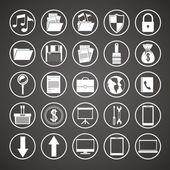 Diseño de icono de la tecnología — Vector de stock