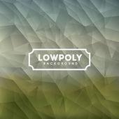 Lowpoly tasarım — Stok Vektör