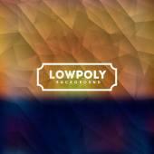 Projekt Lowpoly — Wektor stockowy