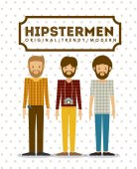 Progettazione hipster — Vettoriale Stock