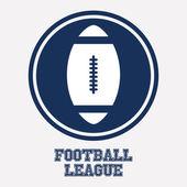 Football design — Stock Vector