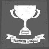 Futbol tasarım — Stok Vektör