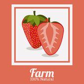 Conception de la ferme — Vecteur