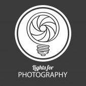 Light bulb design — Stock Vector