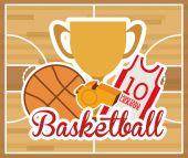 Basketbalové konstrukce — Stock vektor