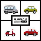 交通工具设计 — 图库矢量图片