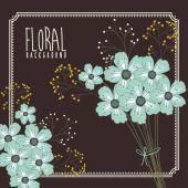 Çiçek Tasarım — Stok Vektör