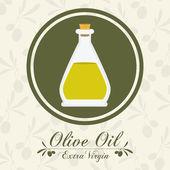 Olivový olej designu — Stock vektor