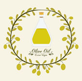 Olive Oil design — Stock Vector