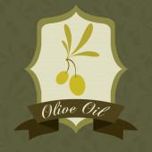 Дизайн оливкового масла — Cтоковый вектор