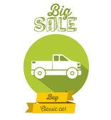 Buy a Car design — Stock Vector
