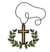 Catholic design — Stock Vector