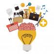 Big idea design — Stock Vector #81455940