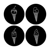 Ice cream design — Stock Vector