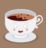 Coffee Shop design — Stock Vector