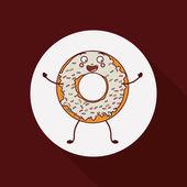 Donuts Shop design — Stock Vector