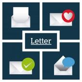 Message design — Stock Vector