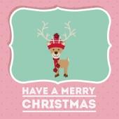Merry Christmas design — Stock Vector