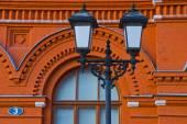 古い鉄街灯 — ストック写真
