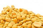 Many tasty roasted peanuts — Foto Stock