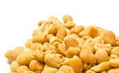 Many roasted peanuts — Stock Photo