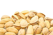 Heap of tasty pistachios — Stock Photo