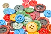 Colorful clothing buttons — Stock Photo