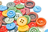 Many colorful clothing buttons  — Stock Photo