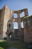 Ancient Roman Kaiserthermen in Trier — Stock Photo