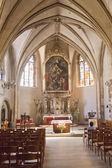 Catedral de notre dame em luxemburgo — Fotografia Stock